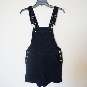Urban Outfitters BDG Navy Corduroy Overalls